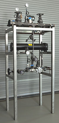 Circulation Pump and Heat Exchange System for a process system      skid