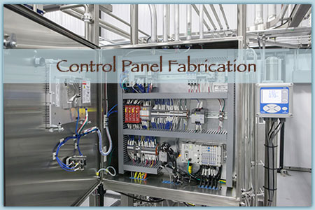 Process Systems Control Panel Fabrication