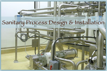 Process Design, Installation Services for Food, Beverage and Dairy Industries