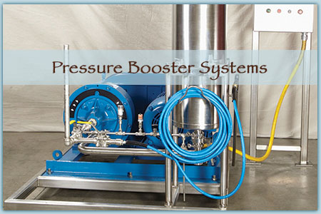 Industrial Pressure Booster System