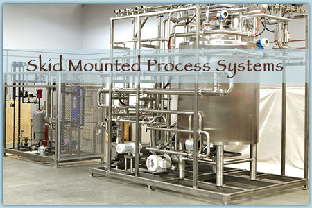 Skid Process Systems - Frame Mounted Systems
