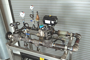 Steam Control Manifold for Heat Transfer System