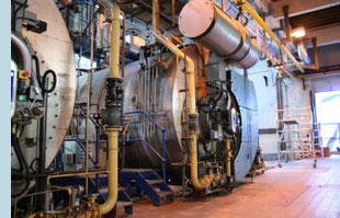 Boiler Room Sanitary Process
