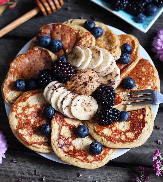Banana Pancakes Gluten & Dairy Free